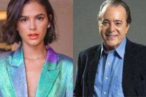 Bruna Marquezine e Tony Ramos voltarão na reexibição da novela Mulheres Apaixonadas (Montagem: TV Foco)