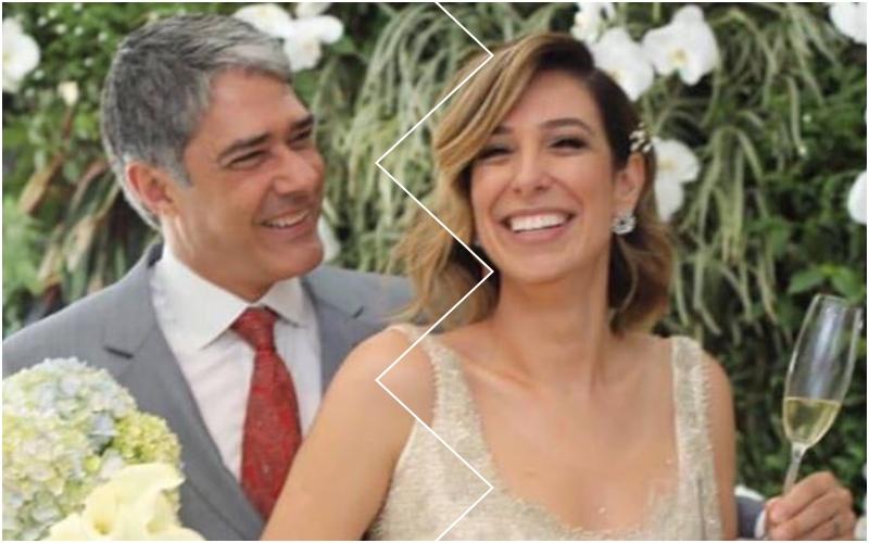Natasha Dantas e o apresentador do Jornal Nacional da Globo e ex-marido de Fátima Bernardes, William Bonner não estão mais juntos? (Foto: reprodução)