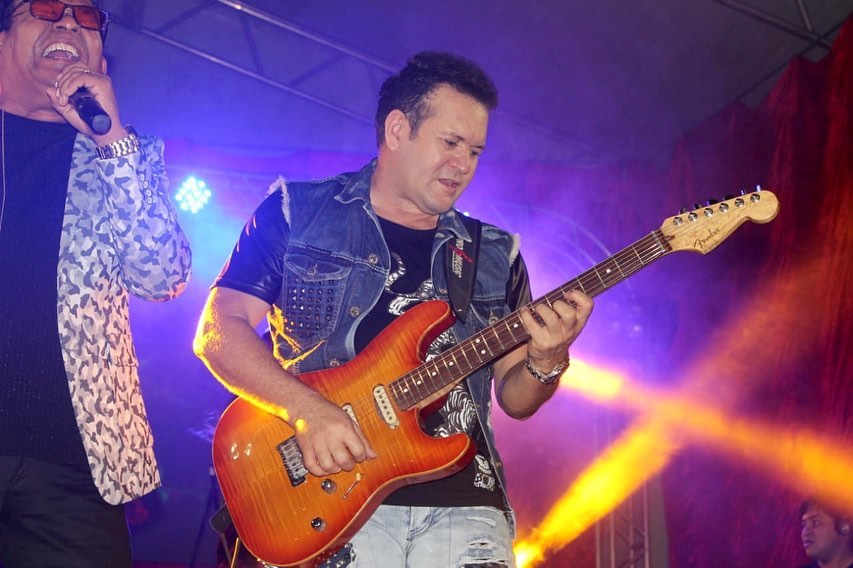 O famoso cantor e guitarrista, Ximbinha (Foto: Reprodução/Instagram)