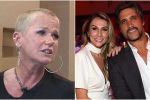 A apresentadora do programa Dancing Brasil, da Record, Xuxa Meneghel se envolve em separação de Leo Chaves e Tatianna Sbrana (Foto: Reprodução/Instagram)