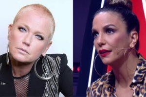 Xuxa admite briga com Ivete Sangalo pela primeira vez (Montagem: TV Foco)