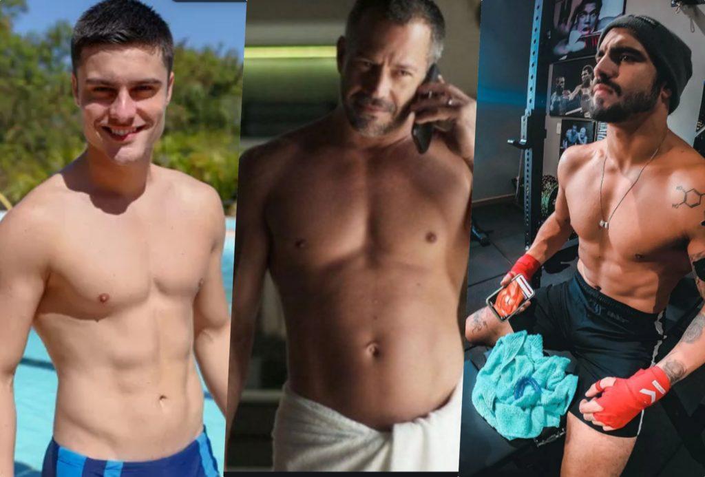 Leandro, Rock e Agno terão um caso em A Dona do Pedaço da Globo
