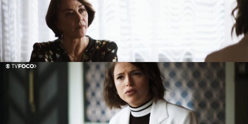 Evelina enfrenta Josiane na novela A Dona do Pedaço