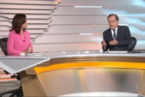globo Ana Paula Araújo e Chico Pinheiro no Bom Dia Brasil (Foto: Reprodução/Globo)