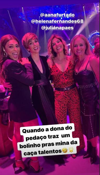 Angélica a globais (Foto: Reprodução/ Instagram)