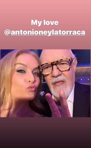 Angélica na inauguração dos Estúdios Globo (Foto: Reprodução/ Instagram)