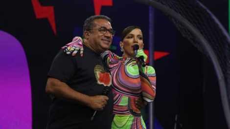 Anitta e Mauro Machado