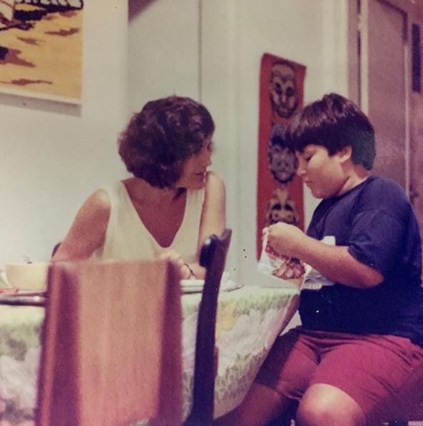 Bento Ribeiro postou uma foto em que aparece obeso (Foto: Reprodução/ Instagram)