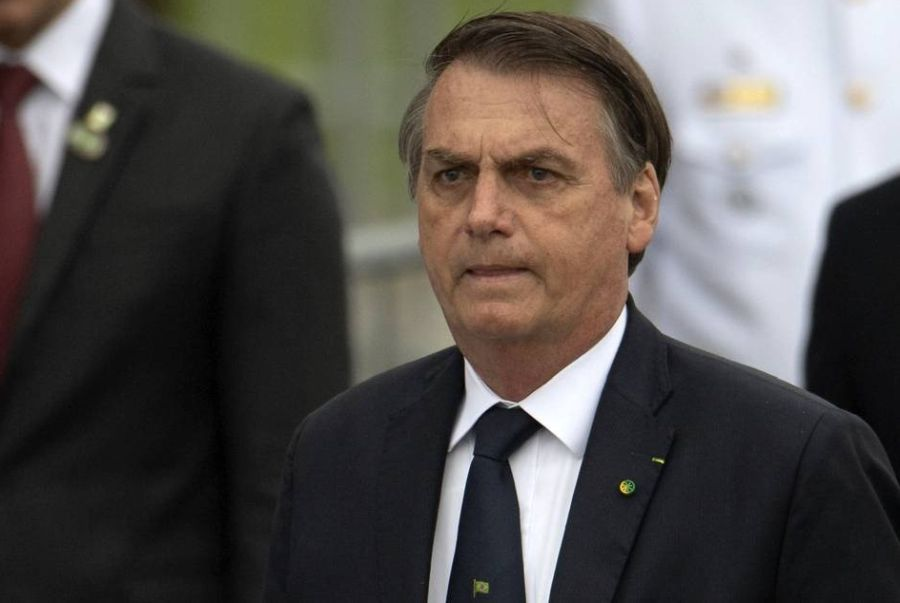Jair Bolsonaro perdeu o neto depois que nora sofreu aborto (Reprodução)