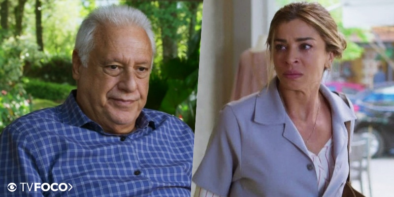 Alberto e Paloma tem encontro arrebatador em Bom Sucesso da Globo