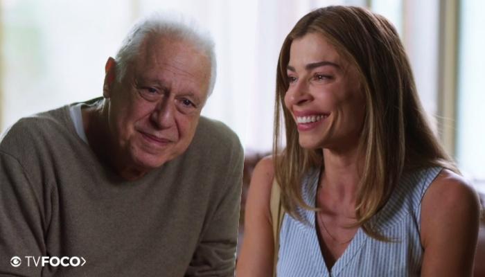 Alberto faz Paloma chorar na Globo com declaração de Bom Sucesso (Foto: Montagem/TV Foco)