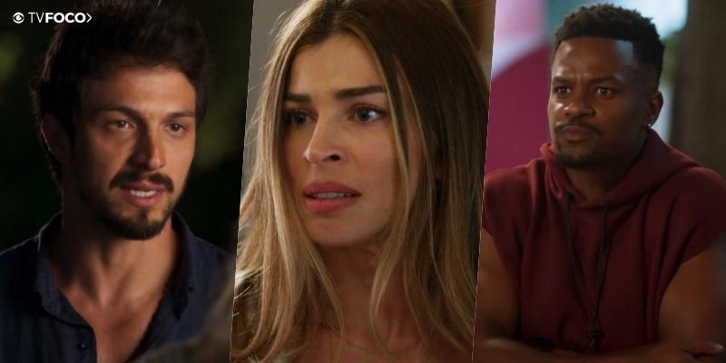Paloma (Grazi Massafera) é jogada na parede por seus dois amores na Globo em Bom Sucesso