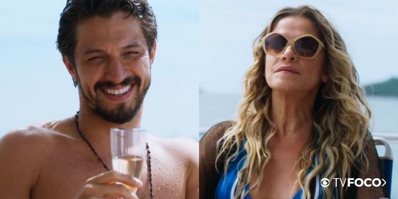 Marcos seduz Silvana na novela Bom Sucesso da Globo