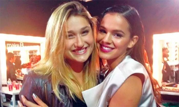Bruna e Sasha Foto: Reprodução