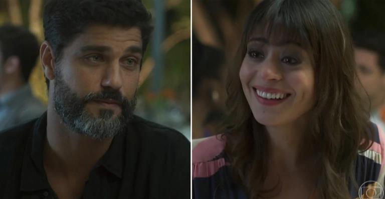Bruno Cabrerizo e Carol Castro em cena. Foto: Reprodução
