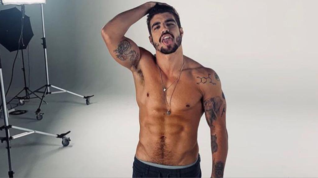 Caio Castro revela time de coração e atacado por torcidas rivais (Imagem: Instagram)