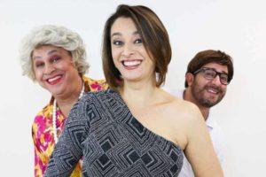 Catia Fonseca se uniu a grandes humoristas como Diego Becker e Guilherme Uzeda no Melhor da Noite