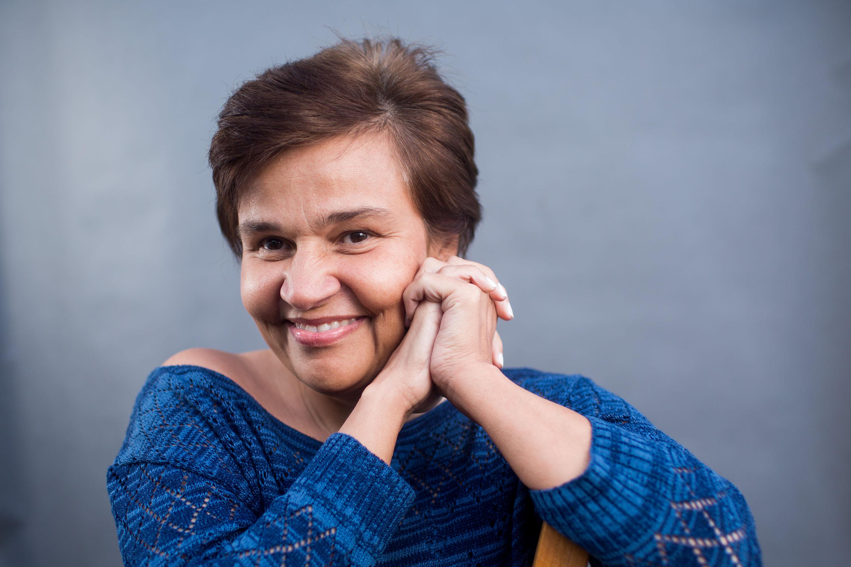 A humorista e atriz Cláudia Rodrigues está de volta (Foto:  Divulgação)