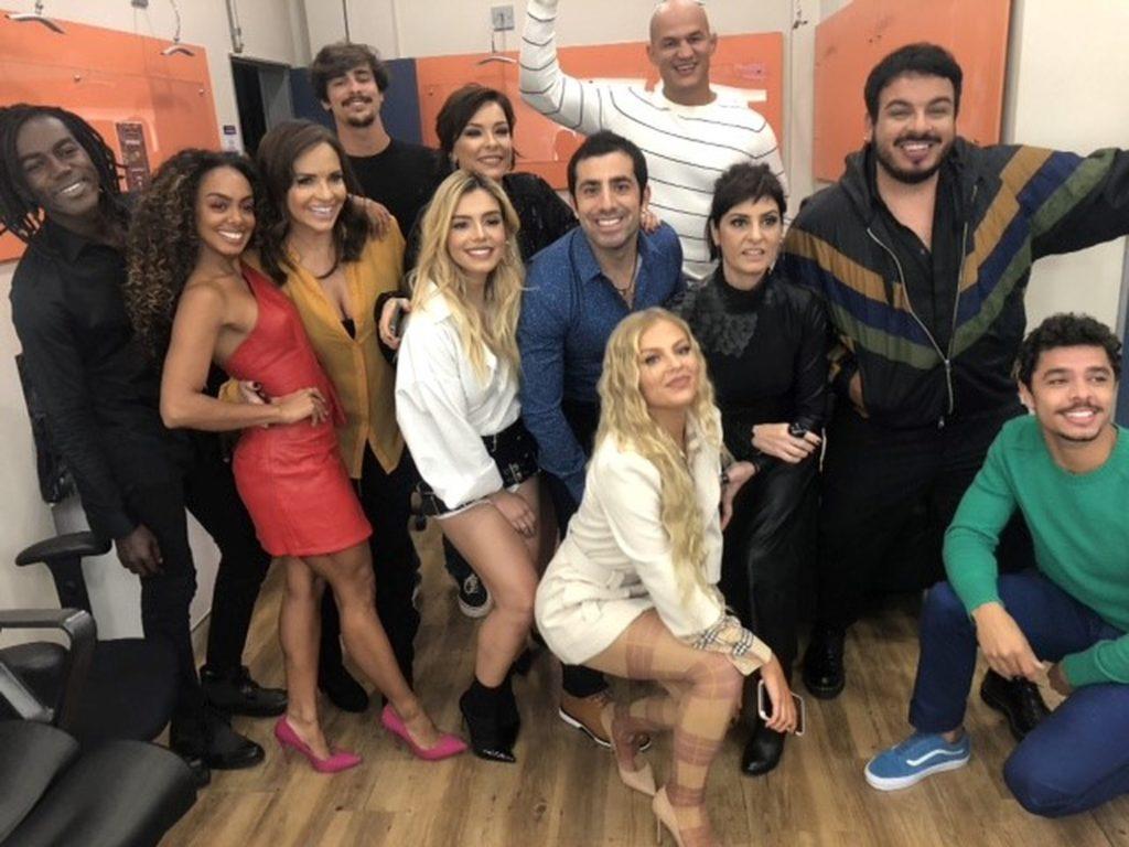 Elenco da Dança dos Famosos foi anunciado por Faustão na Globo (Foto reprodução)
