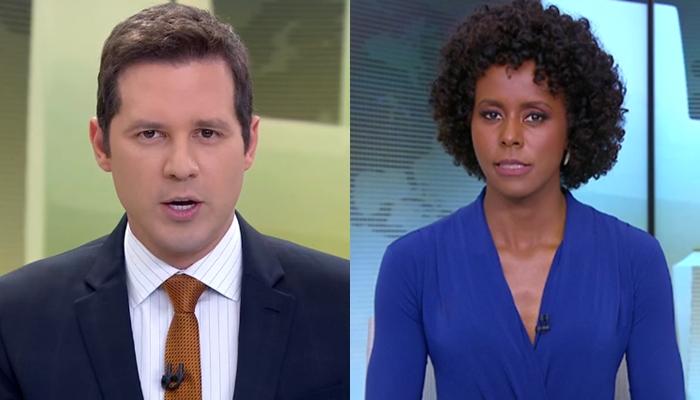 Dony de Nuccio se pronunciou sobre escolha de Maju Coutinho para apresentar o Jornal Hoje (Foto: Reprodução/Globo)
