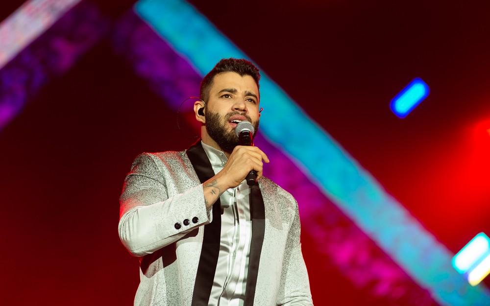 O cantor Gusttavo Lima anunciou pausa na carreira (Foto: Érico Andrade/G1)
