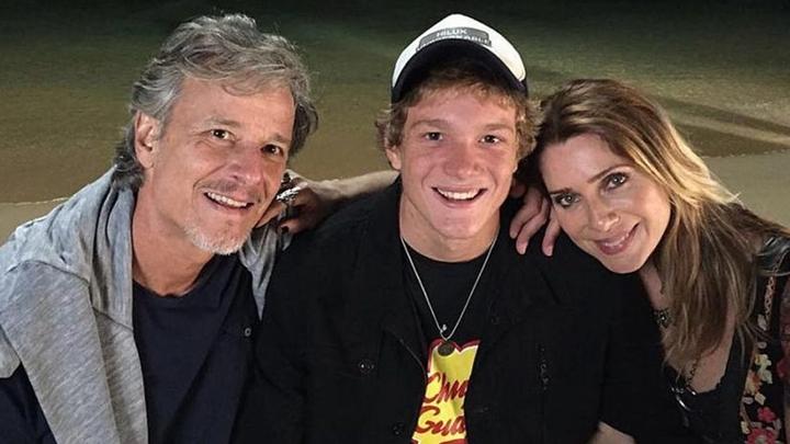 Pedro Novaes é filho de Marcelo Novaes e Letícia Spiller. (Foto: Reprodução)