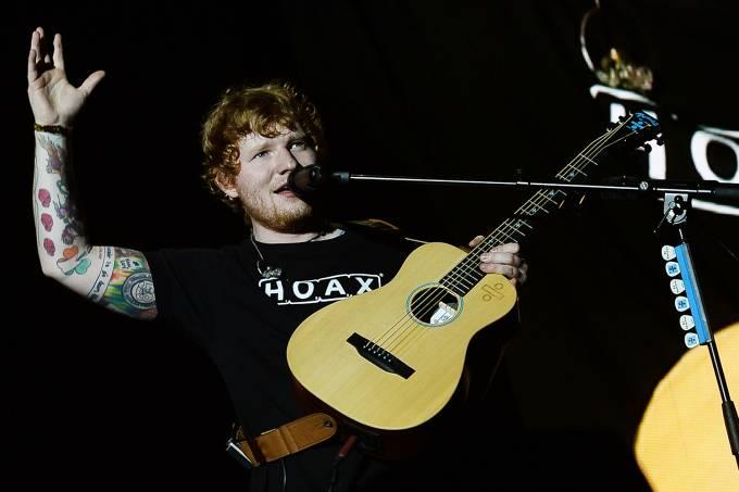 O cantor Ed Sheeran está sendo acusado de plágio (Foto: Reprodução)