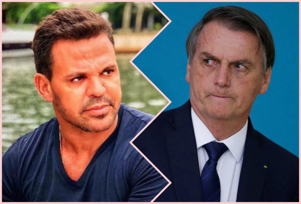Eduardo Costa declarou apoio ao presidente Eduardo Bolsonaro. Foto: Reprodução/TVFOCO