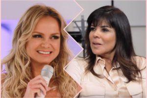 Apresentadoras do SBT, Eliana e Mara Maravilha. Foto: Reprodução