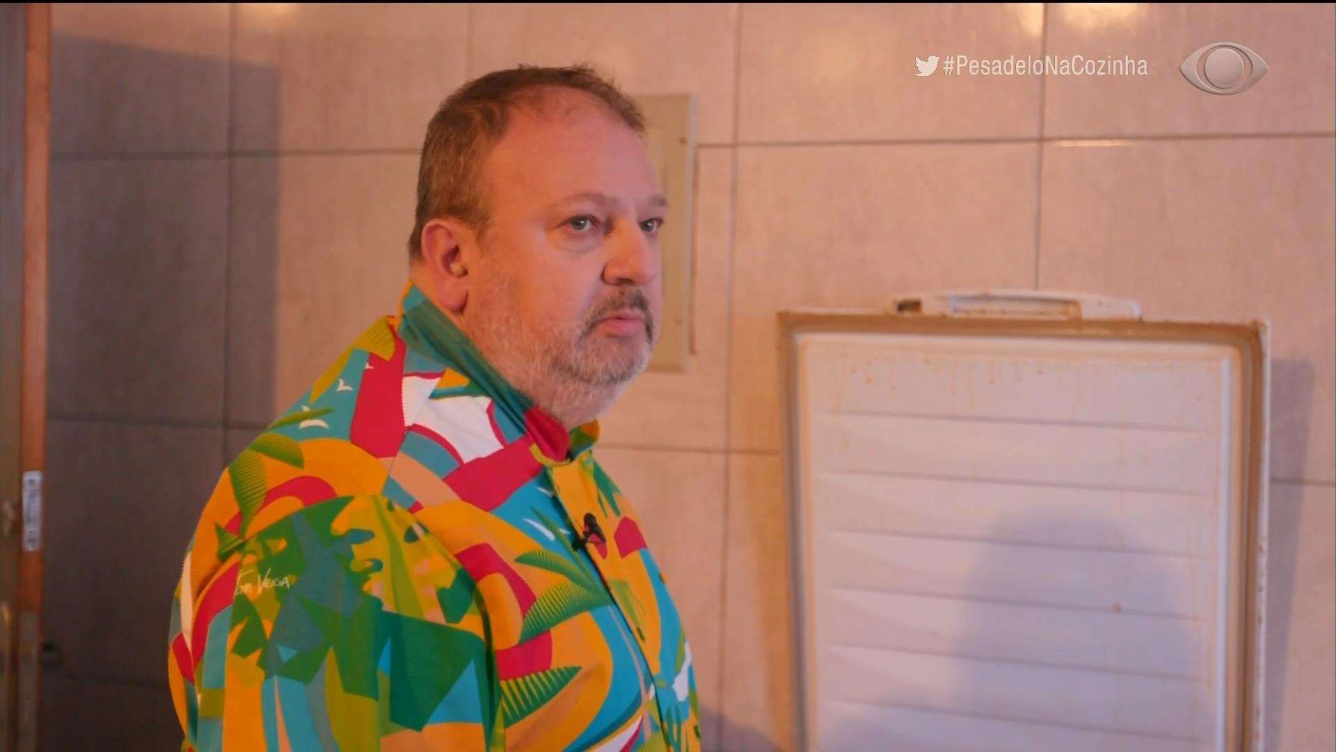 Erick Jacquin em episódio do Pesadelo na Cozinha (Foto: Reprodução)