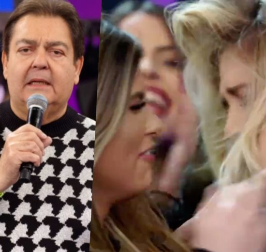 Bailarinas do Domingão do Faustão da Globo estão sendo criticadas (Foto reprodução)