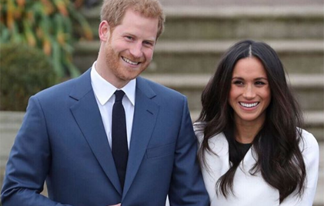 Príncipe Harry e sua esposa Meghan Markle foram impedidos de morar no palácio da rainha Elizabeth (Foto:Reprodução)