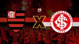 Flamengo e Internacional jogam hoje pelas quartas de final da Libertadores (Foto: Reprodução)
