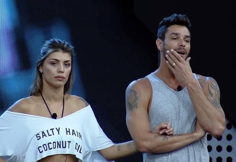 Ex participante do Big Brother Brasil e ex Power Couple, Diego Grossi surgiu chorando muito após anunciar crise em seu casamento com Franciele (Foto: Divulgação)