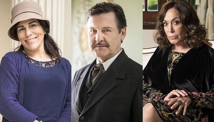 Gloria Pires, Antonio Calloni e Susana Vieira estão no elenco de Éramos Seis, próxima novela das seis da Globo (Foto: Raquel Cunha/Globo)