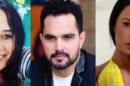 Cléo Loyola, Luciano e Gracyanne Barbosa (Foto: Montagem/TV Foco)