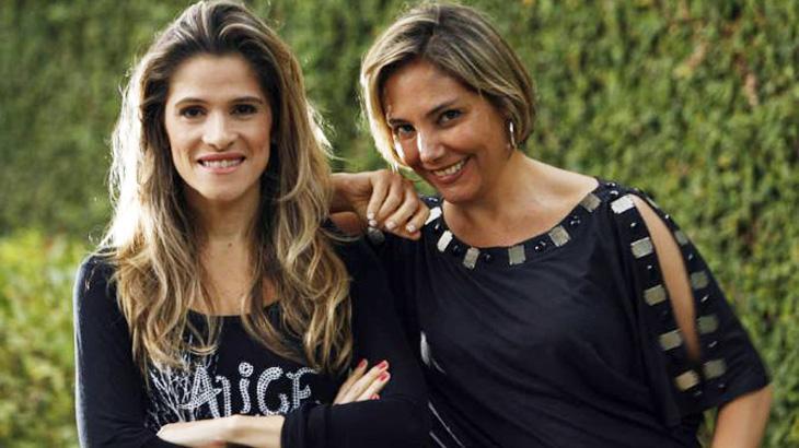 Ingrid Guimarães e Heloisa Perissé Globo (Foto: Reprodução)
