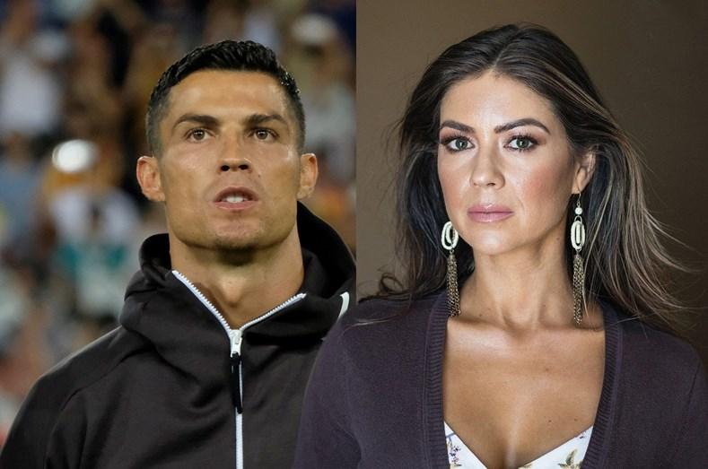 Cristiano Ronaldo e Kathryn Mayorga (Foto: Reprodução)