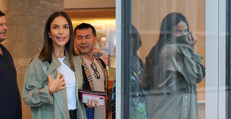 Ivete Sangalo foi flagrada passeando em um shopping do Rio e Janeiro com alguns amigos - Fotos: Fabio Moreno/Agnews
