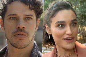 JJosé Loreto e Débora Nascimento (Foto montagem TV Foco)