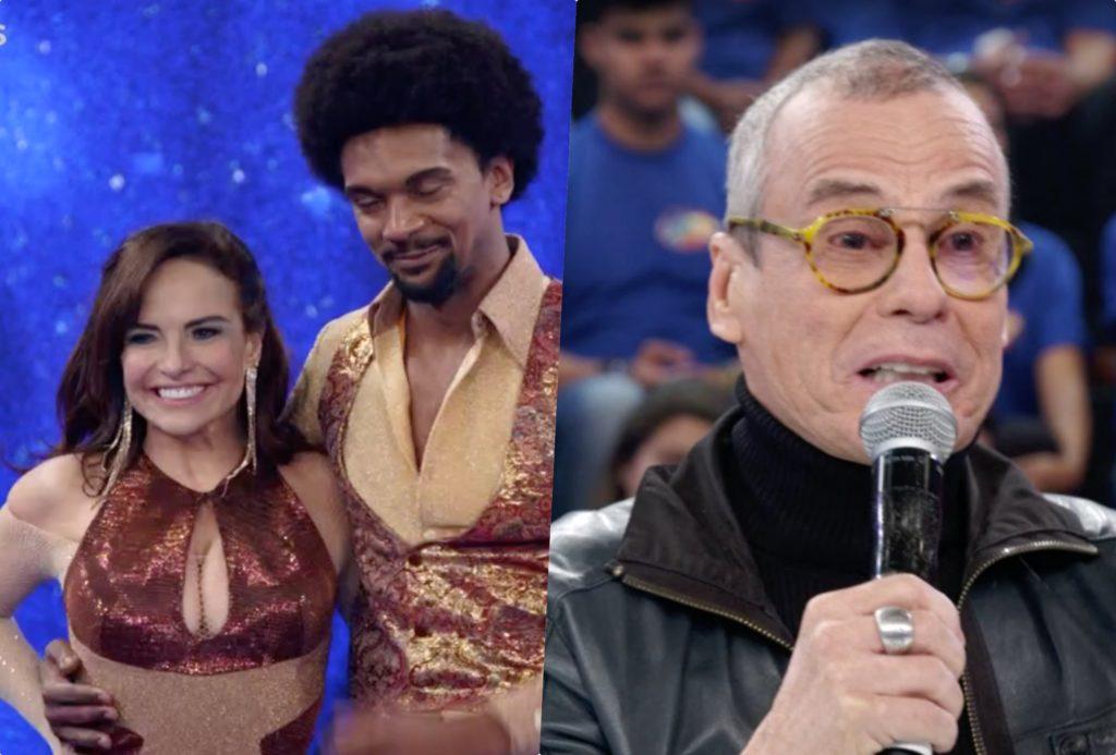 Carlinhos de Jesus deu nota abaixo do protocolo na Dança dos Famosos da Globo do Faustão