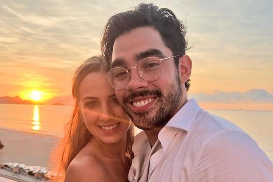 Karoline e Gabriel Diniz. Foto: reprodução