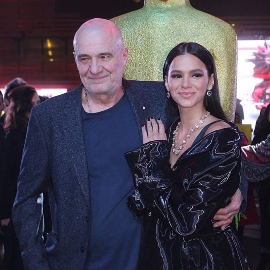 Klaus Mitteldorf e Bruna Marquezine (Reprodução)