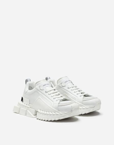 Tênis modelo Super Queen Sneakers In Calfskin, de Dolce & Gabbana (R$ 3.736,25) (Foto: Reprodução)