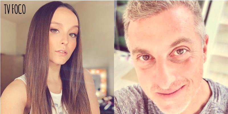 Larissa Manoela do SBT e Luciano Huck da Globo toparam participar de grandes desafios