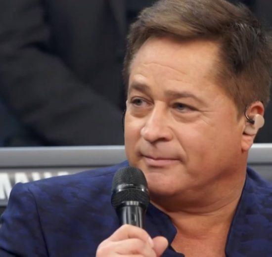 Leonardo esteve no Altas Horas, da Globo (Foto: Divulgação)