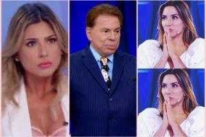 Sílvio Santos ofendeu Lívia Andrade ao dizer que seus looks ousados são falta de educação dada em casa. Foto: Reprodução