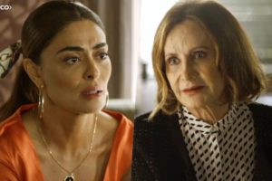 Linda revelará segredo para Maria da Paz em A Dona do Pedaço