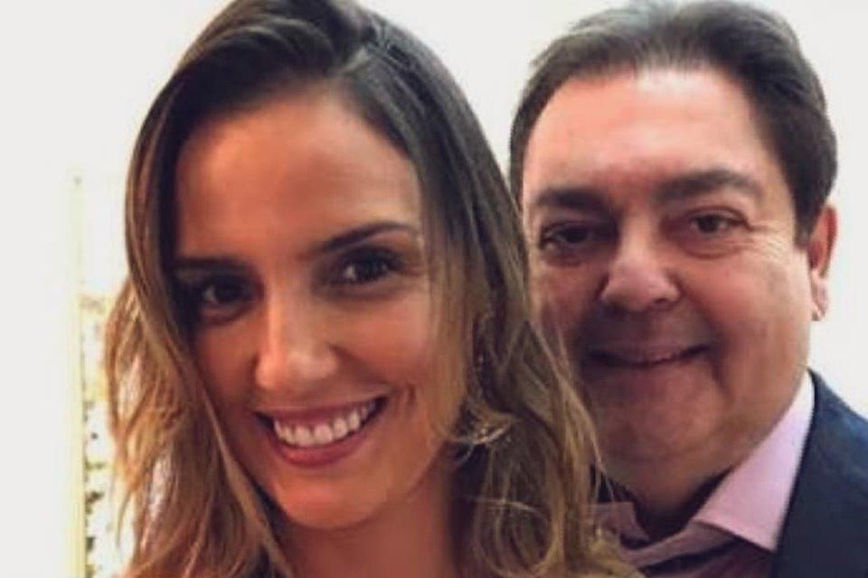 A mulher de Faustão, Luciana Cardoso apresentador da Globo (Foto: Reprodução/Instagram)