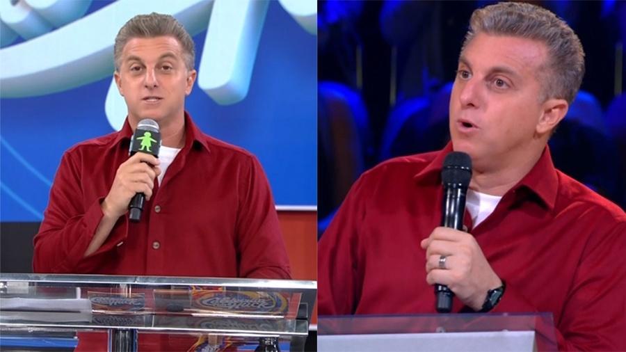 Luciano Huck e a Globo tentaram enganar os telespectadores ao surgirem no programa ao vivo e gravado (Foto: Divulgação)